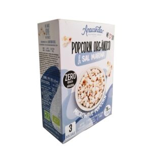 Palomitas de microondas sin gluten Bio 3 bolsas Anaconda
