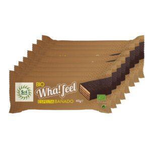 Whafeel Bañado Espelta integral y Cacao bio 16x40g Sol Natural