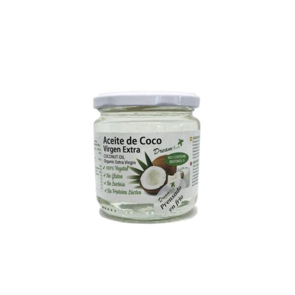 Aceite de coco virgen extra Bio 250 g Dream Foods