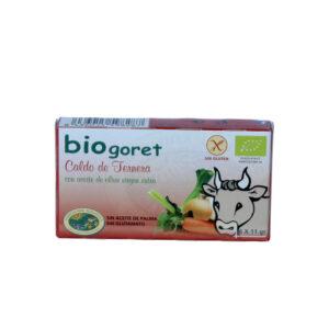 Caldo de ternera en cubitos bio 6x11g BioGoret
