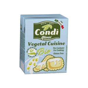 Crema de soja para cocinar cuisine bio 200ml Condi