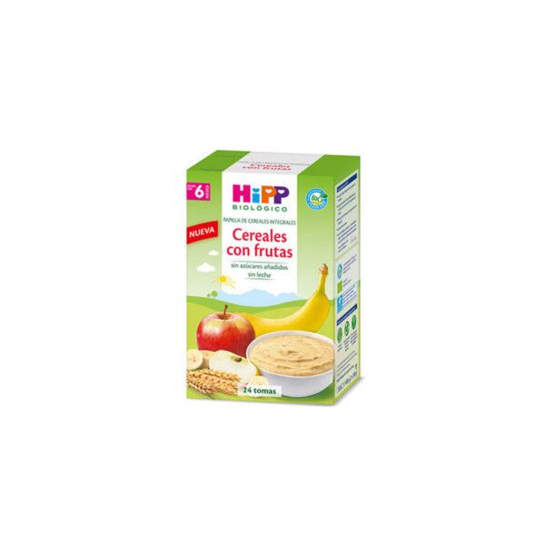 Papilla cereales con frutas bio 600 g Hipp
