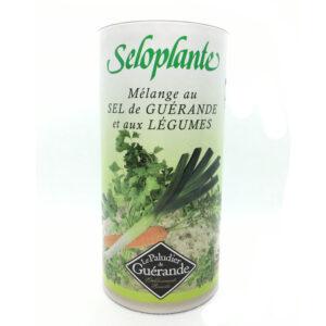 Sal aromatizada con verduras seloplante 250g Le paludier de Guerande