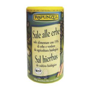 Sal con hierbas bio 125g Rapunzel