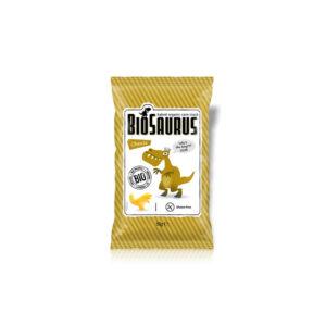 Snack sabor queso sin gluten Bio 50g BioSaurus