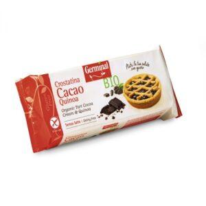 Tartaleta de cacao y quinoa bio sin gluten 200g Germinal