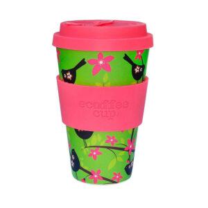Vaso bambú Widdlebirdy 400ml Ecoffee cup