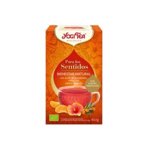 Yogi tea para los sentidos Bienestar Natural 20 filtros