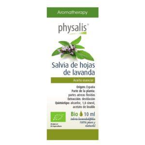 Aceite esencial de salvia de hojas de lavanda bio 10ml Physalis