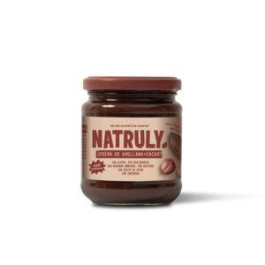 Crema de Cacao y Avellanas 43% 300g Natruly