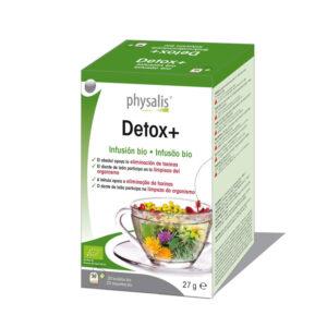 Detox infusion bio 20 filtros Physalis