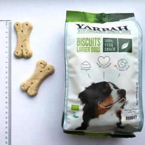 Galletas veganas para perros bio 500 g Yarrah