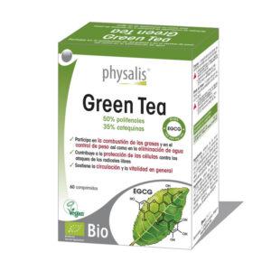 Green tea (te verde) 60 comprimidos Physalis