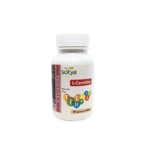 L-carnitina 600 mg 90 cápsulas Sotya
