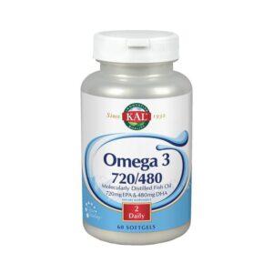 Omega 3 720/480 60 perlas KAL