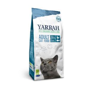 Pienso para gatos con pescado y proteína bio Yarrah