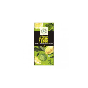 Tableta chocolate matcha-limón bio 70g Sol Natural
