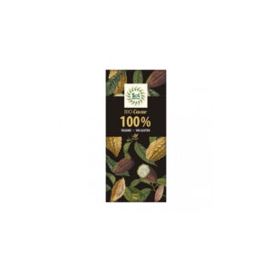 Tableta de chocolate cacao puro 100% bio 70g Sol Natural