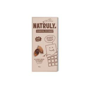 Tableta de Chocolate Negro 72% 85g Natruly