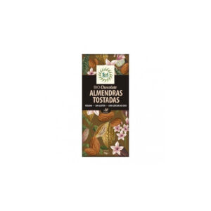 Tableta de chocolate y almendras bio 70g Sol Natural