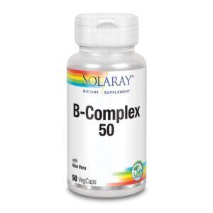 Vitamina B-Complex 50 - 50vcaps Solaray