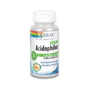 Acidophilus Plus 30 vcaps Solaray