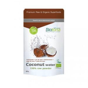 Coconut water raw powder (agua de coco en polvo) superfooods bio 200g Biotona