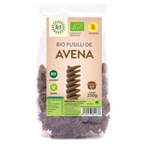 Fusilli de Avena s/gluten Bio 250g Sol Natural