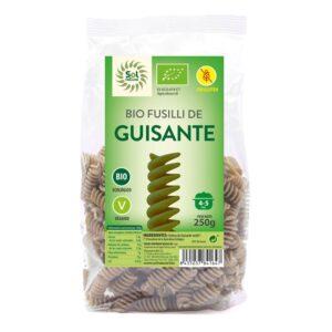 Fusilli de Guisantes s/gluten Bio 250g Sol Natural