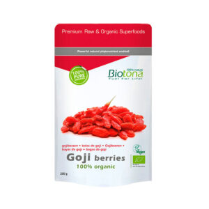 Goji berries (bayas de goji) superfoods bio 250g Biotona