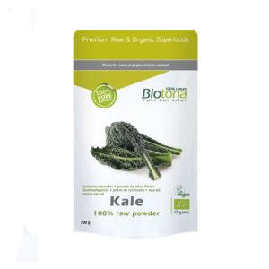 Kale raw powder superfoods bio 120 g Biotona