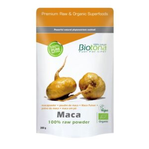 Maca en polvo raw superfood bio 200 g Biotona