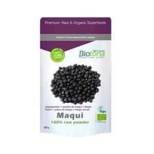 Maqui raw powder superfood bio 200g Biotona