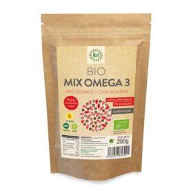 Mix Omega3 Lino y chia molidas Bio 200g Sol Natural