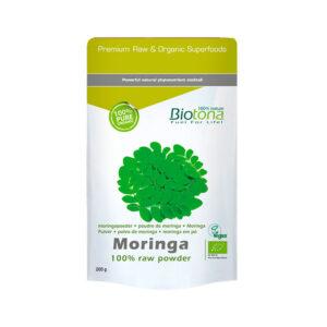 Moringa raw superfood bio 200 g Biotona