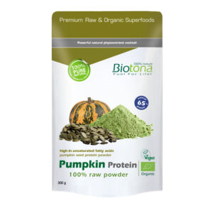 Pumpkin Protein Raw (Proteina de Calabaza) Bio 300g Biotona
