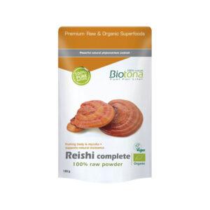 Reishi completo raw powder superfoods bio 150 g Biotona