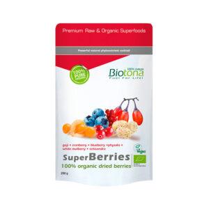 Superberries (frutas del bosque) superfoods bio 250g Biotona
