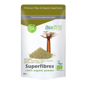Superfibres (super fibra) raw superfood bio 300g Biotona