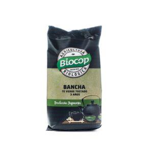 Te verde tostado bancha 3 años Bio 75g Biocop