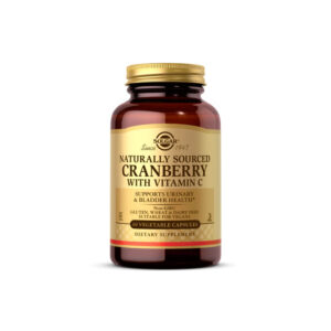 Arandano rojo con vitamina C 60Vcaps Solgar