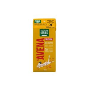 Bebida de avena con calcio bio 200ml Naturgreen