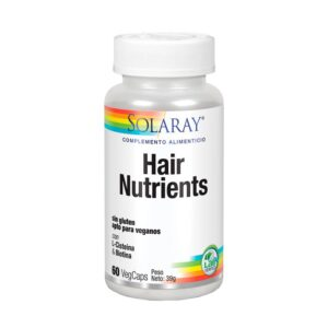 Hair Nutrients 60 vcaps Solaray