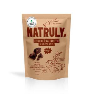 Proteina Whey 70% Chocolate Bio 350g Natruly