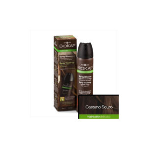 SPRAY TOUCH-UP CASTAÑO OSCURO 75 ML.BIOKAP