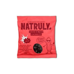 Cacao&Nuts cacahuete Chocolate Con Leche 150g Natruly