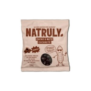 Cacao&Nuts cacahuete Chocolate Negro 150g Natruly
