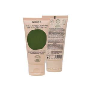 Crema solar facial COLOR SPF+50 Bio 50ml Nuura