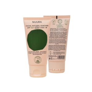 Crema solar facial natural SPF+50 Bio 50ml Nuura