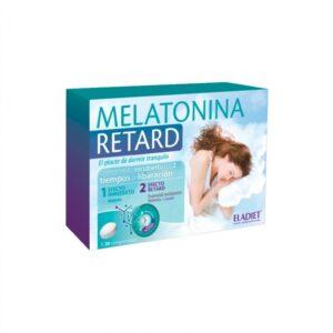 Melatonina Retard 1.85mg 30 comprimidos Eladiet
